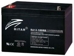 Ritar AGM Batteri 12V 100AH