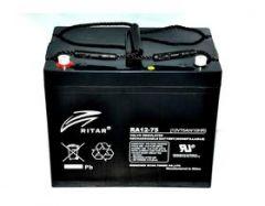 Ritar AGM Batteri 12V 75AH
